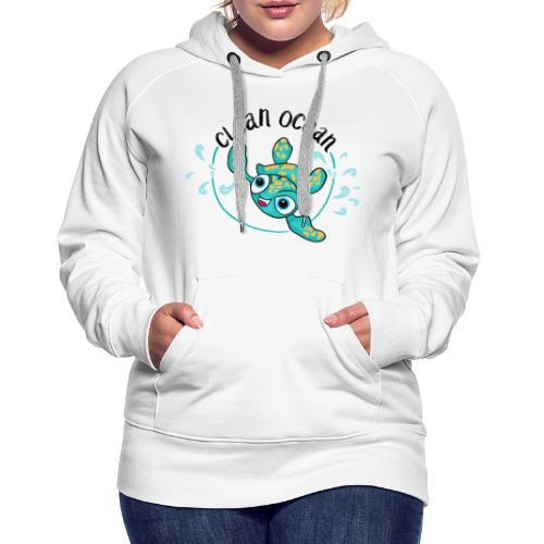 Clean Ocean - Women's Premium Hoodie