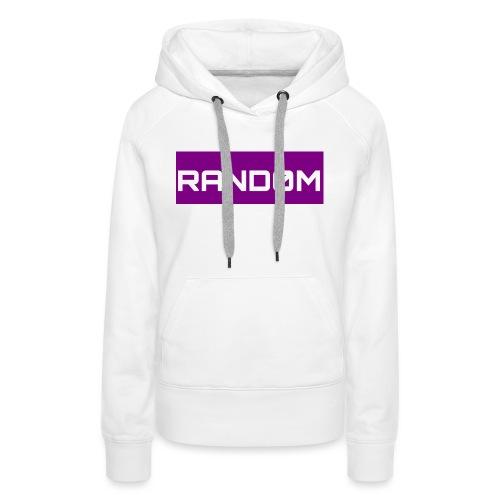 RAND0M SMALL LOGO - Women's Premium Hoodie
