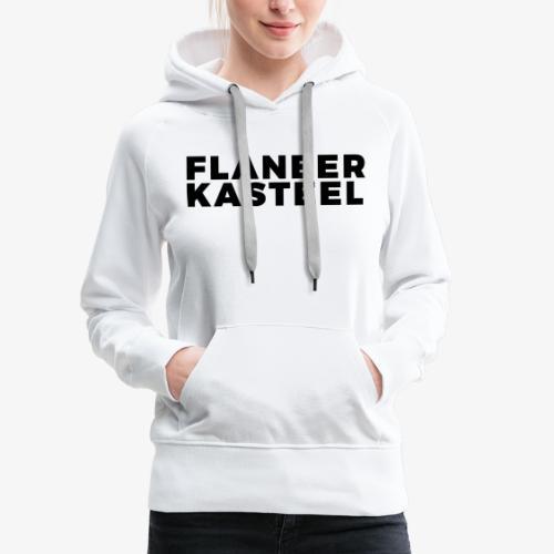 Flaneer Kasteel - Vrouwen Premium hoodie