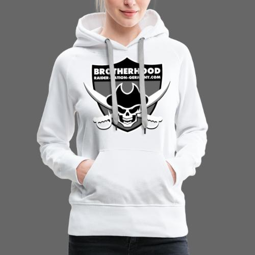 RAIDER NATION GERMANY - Frauen Premium Hoodie