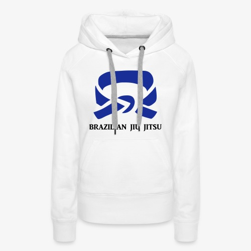 BJJ Blue Belt Clothing - Women's Premium Hoodie