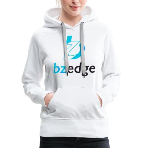 BZEdge Cutting Edge Crypto - Women's Premium Hoodie