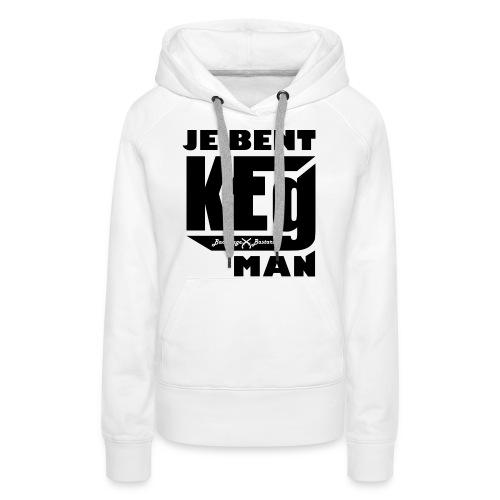 Keg 01 png - Vrouwen Premium hoodie