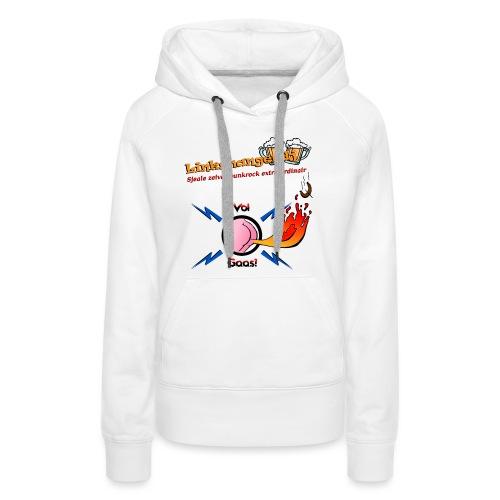 VolGaasTShirtKleur - Vrouwen Premium hoodie