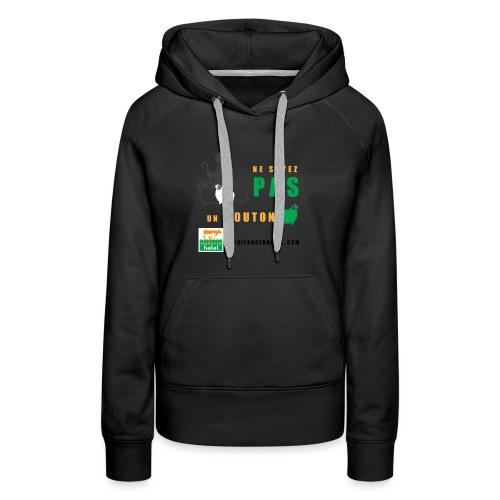 shepperd - Sweat-shirt à capuche Premium pour femmes