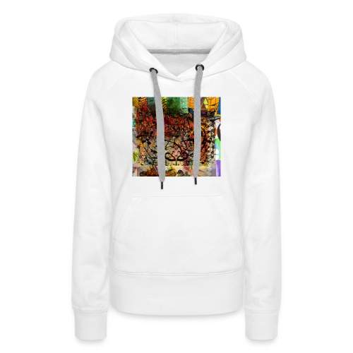 urban tribute - Sweat-shirt à capuche Premium pour femmes
