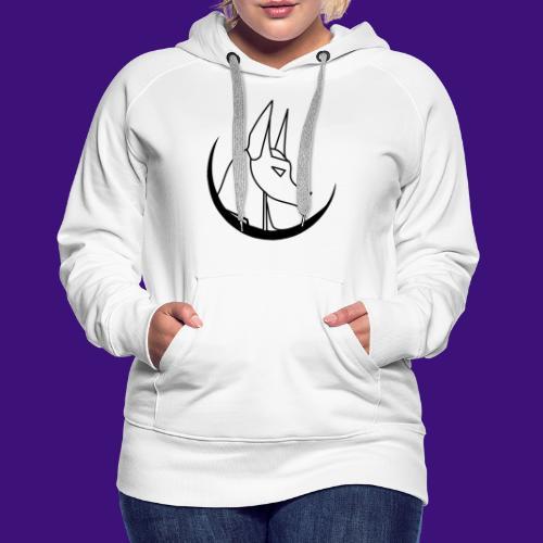 ThVoid Logo Schwarz - Frauen Premium Hoodie
