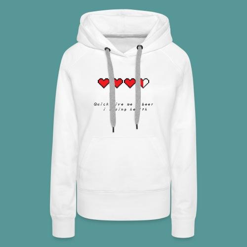 The Legend of Drunk - Vrouwen Premium hoodie