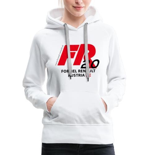 fr logo2021b - schwarze Schrift - Frauen Premium Hoodie