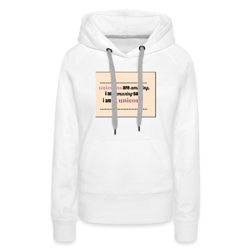 UNICORNS - Vrouwen Premium hoodie