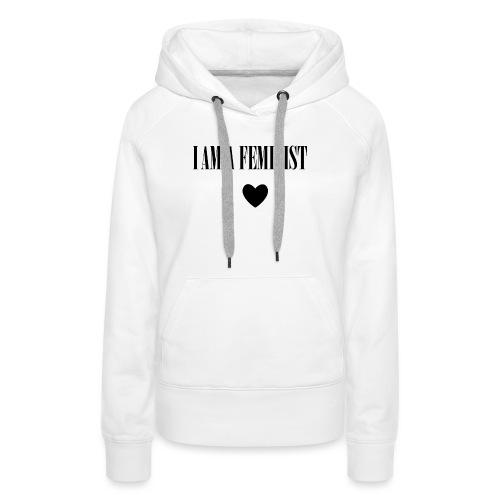 BAG I AM A FEMINIST - Vrouwen Premium hoodie