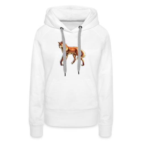 Fox of the night - Women's Premium Hoodie