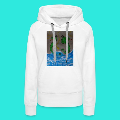 Waterdragons_in_the_thunder- - Vrouwen Premium hoodie