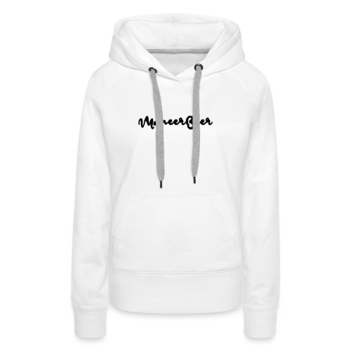 LogoText - Vrouwen Premium hoodie