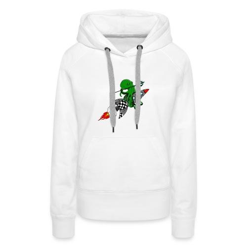 inktvis strijder - Vrouwen Premium hoodie