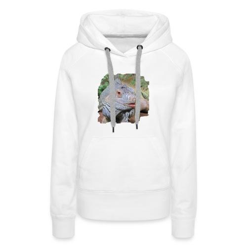 leguaan - Vrouwen Premium hoodie