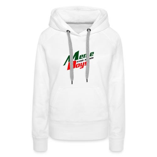 Memeboys Logo Shirt - Women's Premium Hoodie
