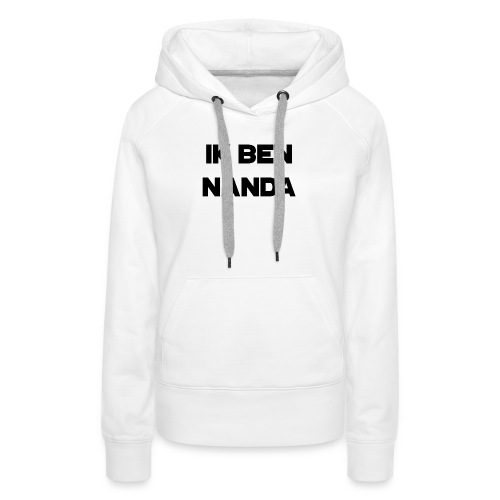 Nanda T-shirt - Vrouwen Premium hoodie