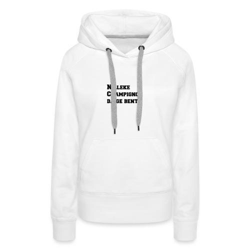 Nilleke Streetwear - Vrouwen Premium hoodie
