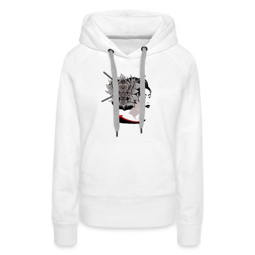 Warrior Flower - Vrouwen Premium hoodie