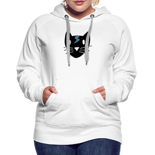 Bowie Cat - Frauen Premium Hoodie