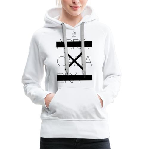 abra cada bra - Sweat-shirt à capuche Premium pour femmes
