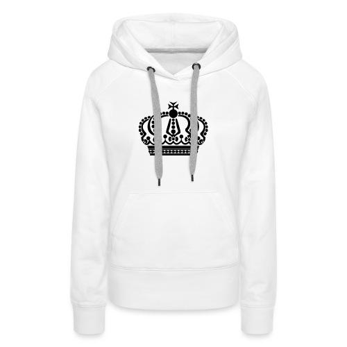 kroon keep calm - Vrouwen Premium hoodie