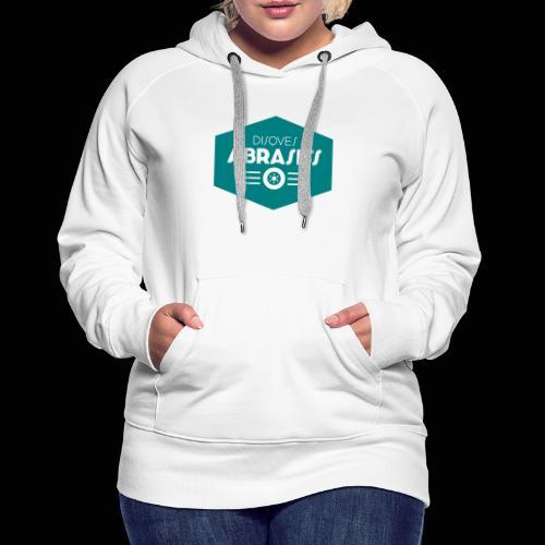 Official Disques Abrasifs Merch' - Sweat-shirt à capuche Premium pour femmes