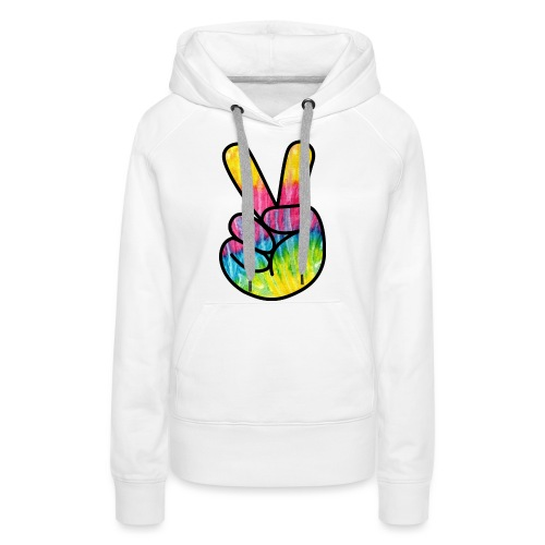 Peace Out Dude - Women's Premium Hoodie