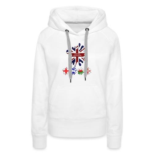 United Kingdom Flags - Women's Premium Hoodie