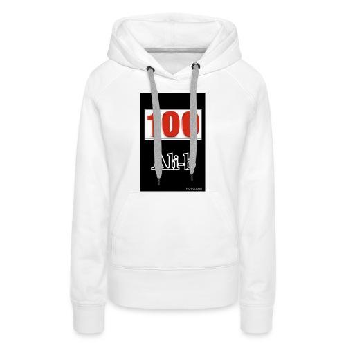 Limited edition Ali-b 100 subscribes merchandise - Women's Premium Hoodie