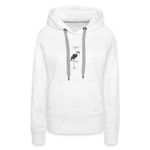 T-shirt imprimé - off white - Sweat-shirt à capuche Premium pour femmes