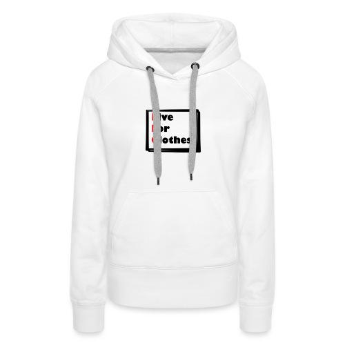 Simpler Design - Women's Premium Hoodie
