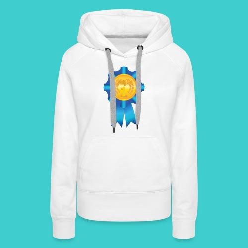 Papa Medaille - Vrouwen Premium hoodie