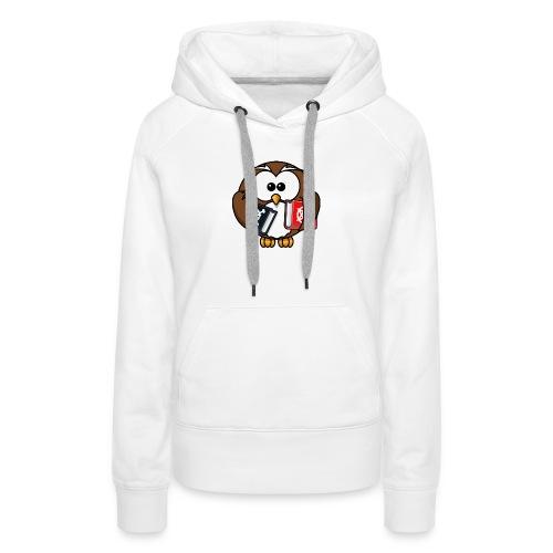 Lerning Owl - Frauen Premium Hoodie