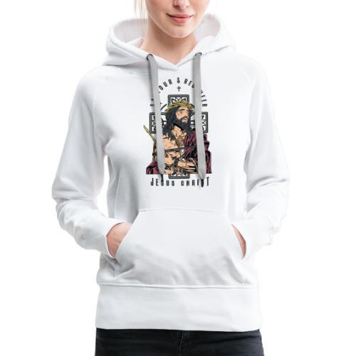 Jesus Christ - Women's Premium Hoodie