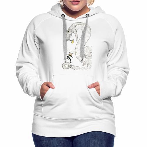 Poison - Combat contre un serpent venimeux géant - Sweat-shirt à capuche Premium pour femmes