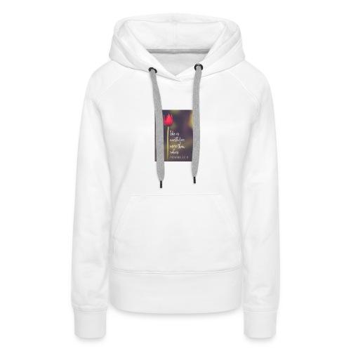 IMG 20180308 WA0027 - Women's Premium Hoodie