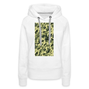 camouflage slippers - Vrouwen Premium hoodie