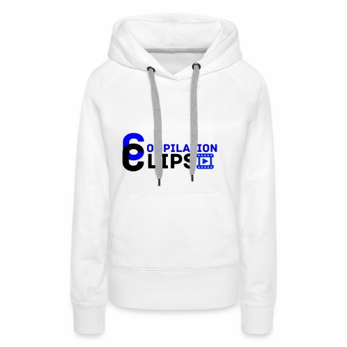Official CompilationClips - Women's Premium Hoodie