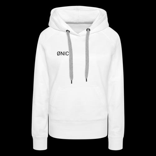 ØNIC-Whit3 edition - Frauen Premium Hoodie