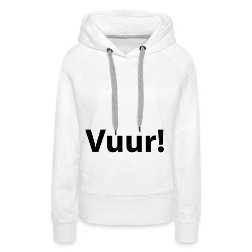 tshirt_PNG5431-png - Vrouwen Premium hoodie