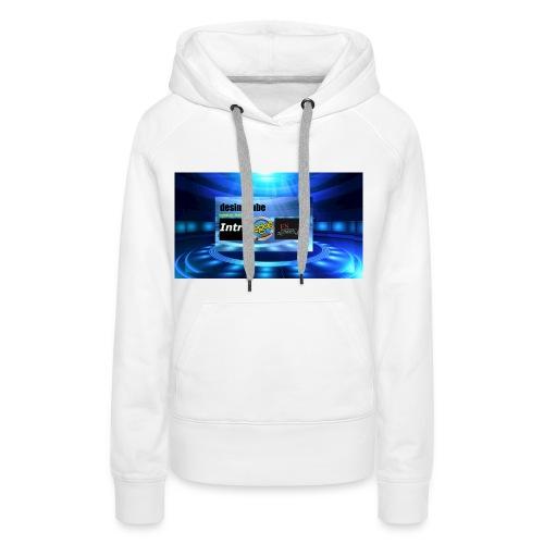 full banner t-shirt - Vrouwen Premium hoodie