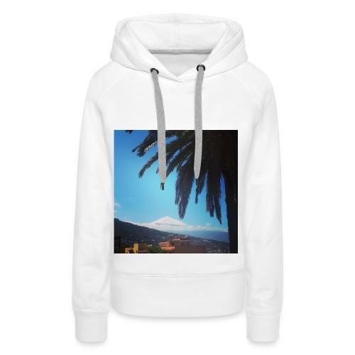Islas Tenerife - Felpa con cappuccio premium da donna