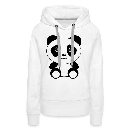 PandaGun-Icon - Frauen Premium Hoodie