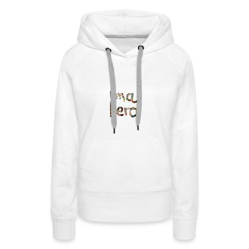 I'm aHero Grafitti - Frauen Premium Hoodie