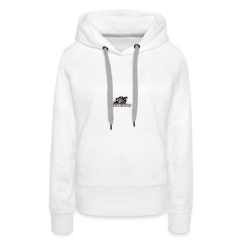 Logo-cuadrat-redone-png - Sudadera con capucha premium para mujer