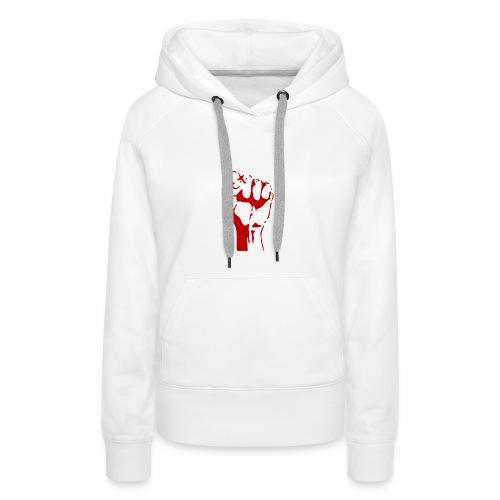 revolutie t shirt - Vrouwen Premium hoodie