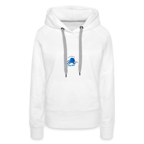 Octopus Testudo - Sweat-shirt à capuche Premium pour femmes
