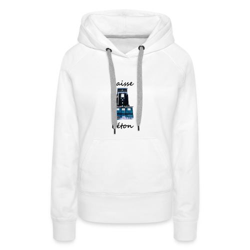 laisse_b--ton-png - Sweat-shirt à capuche Premium pour femmes